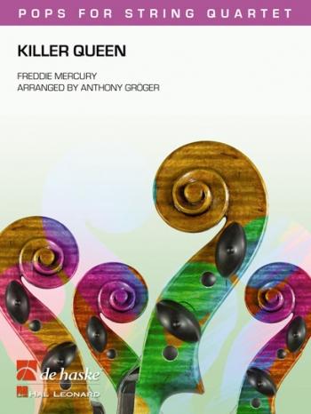 Killer Queen: String Quartet: Sc&Pts: Hal Leonard Pops For String Quartet