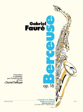 Berceuse: Alto Sax And Piano