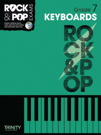 Rock & Pop Exams: Keyboard Grade 7 Book & Cd (Trinity)