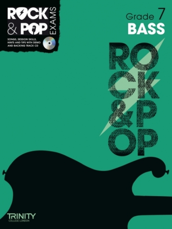Rock & Pop Exams: Bass Guitar Grade 3: Book & CD (Trinity)