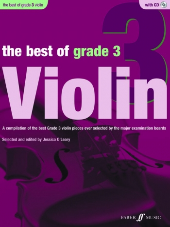 Best Of Violin Grade 3: Book And CD (Jessica O Leary)