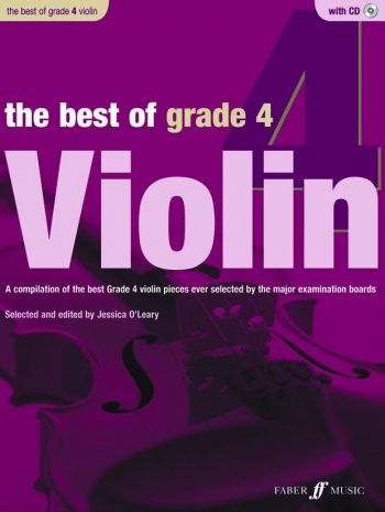 Best Of Violin Grade 4: Book And CD (Jessica O Leary)