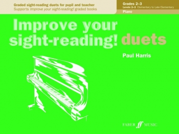 Improve Your Sight-Reading Piano Duets Grade 2-3 (Paul Harris)