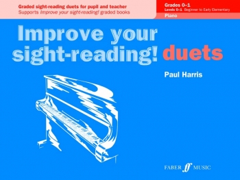 Improve Your Sight-Reading Piano Duets Grade 0-1 (Paul Harris)
