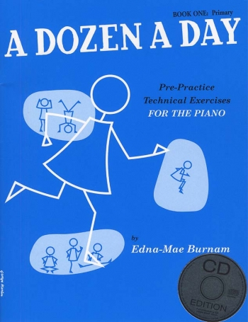 A Dozen A Day Book 1 Primary: Piano Studies: Book And Cd