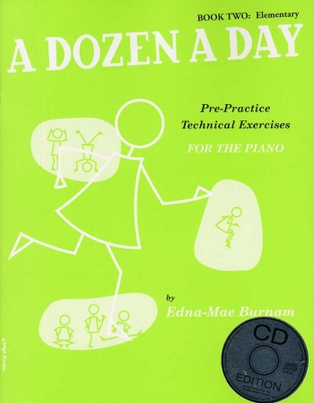 A Dozen A Day Book 2 Elementary: Piano Studies: Book And Cd