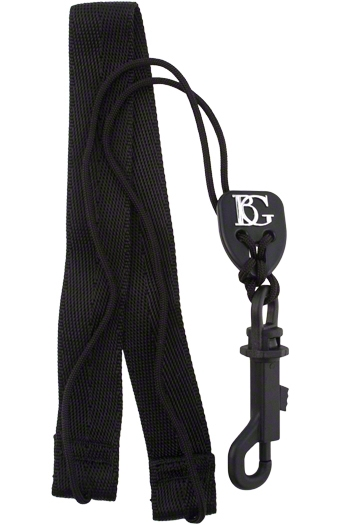 BG SFSH FLEX Saxophone Strap With Snap Hook