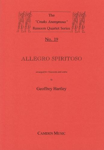 Allegro Spiritoso: 3 Bassons & Contra  (Camden)
