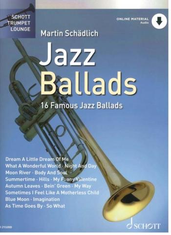 Schott Trumpet Lounge: Jazz Ballads: Trumpet: Bk&cd