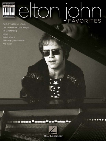 Elton John Favourites: 20 Hits: Note For Note: Piano Vocal Guitar