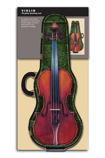 3D Card - Violin