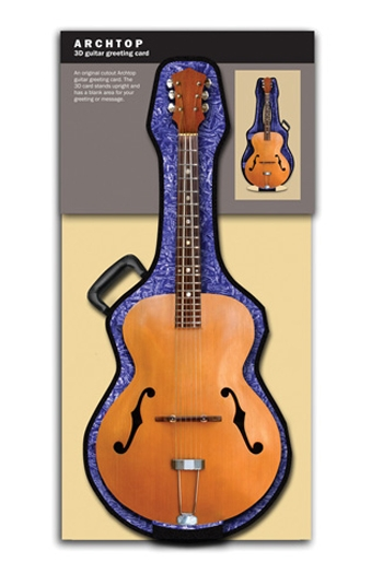 3D Card - Archtop Guitar