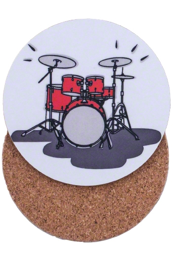 Mugmats Drum Set  Coasters