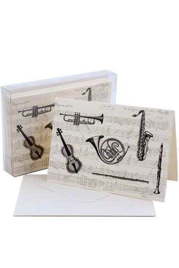 Notecard Boxes: Classical Instruments