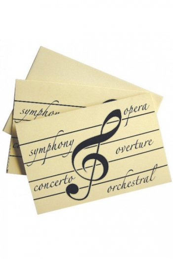 Classical-themed Notecards & Envelopes (Box Of 10)