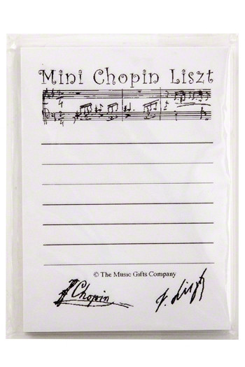 Sticky Notes: Mini Chopin Liszt