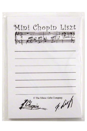 Sticky Notes: Mini Chopin Liszt