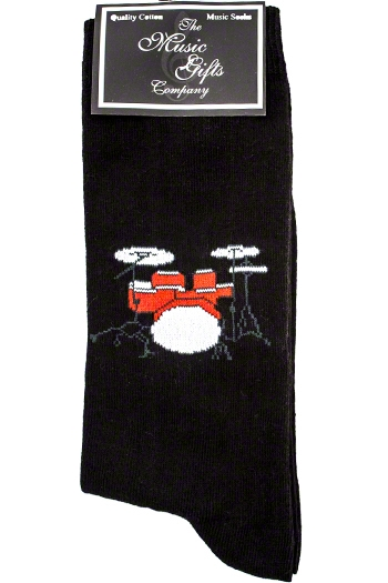 Socks With Drum Set Design