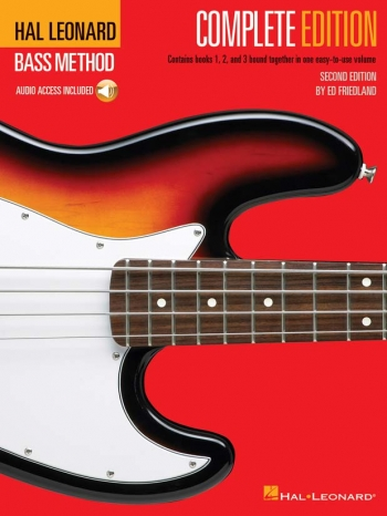 Hal Leonard Bass Method: Complete Edition (Second Edition) Book & 3 CD