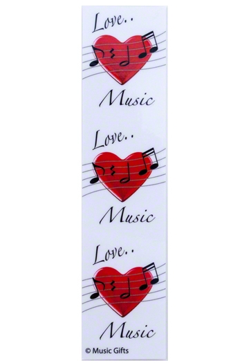Love Music Bookmark