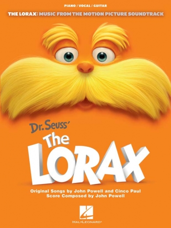 Dr Seuss  The Lorax: Music From The Motion Picture: Piano Vocal Guitar
