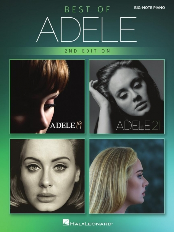 Best Of Adele: Big Note Piano