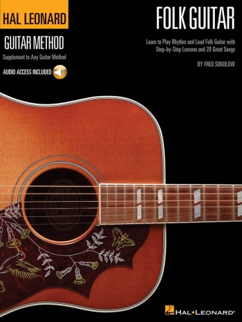 Hal Leonard Guitar Method: Folk Guitar: Book And Cd