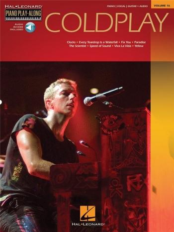 Coldplay: Piano Play Along: Vol 16: Book And Cd