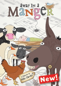 Away In A Manger Ages 3-6 Book & Cd