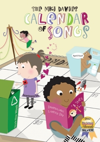 Calendar Of Songs: Songbook Ages 3-6 Book & Cd