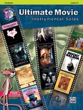 Ultimate Movie Instrumental Solos For Trombone Bass Clef: Book & CD