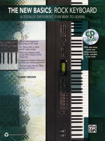 The New Basics: Rock Keyboard: Bk&Cd
