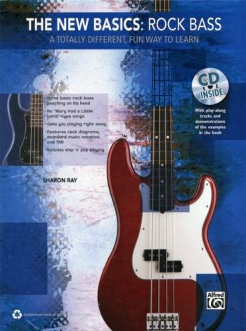 The New Basics: Rock Bass: Bk&Cd