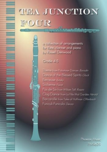 Tea Junction Four: Trios: Flute Clarinet & Piano