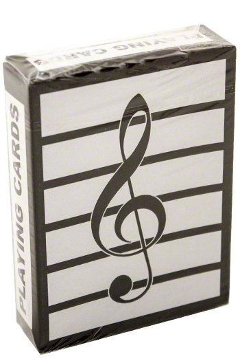 Playing Cards - Treble Clef