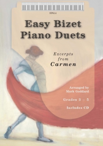 Easy Bizet Piano Duets: Piano: Grade 3-5