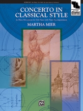 Concerto In Classical Style: Piano Solo With Optional Piano Accompaniment