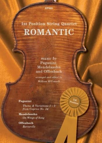 Romantic: 1st Position String Quartet: String Quartet: Score & Parts