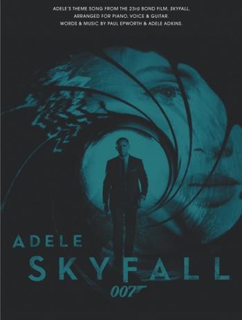 Adele: Skyfall - James Bond Theme Single; Piano Vocal Guitar