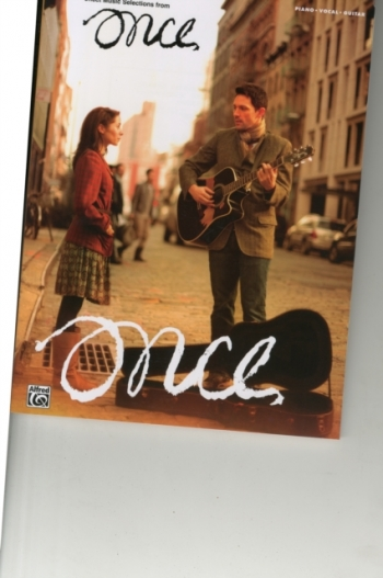 Once: Broadway Musical Piano Vocal Guitar