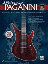 Shredding Paganini: Guitar Tab: Book & Cd