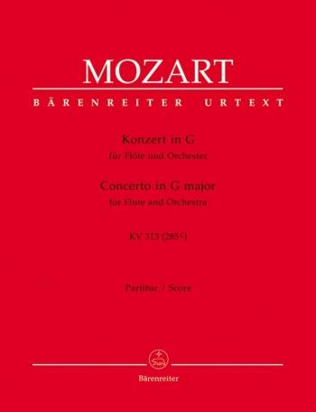 Concerto G Major: K313: Score: Flute & Orchestra (Barenreiter)