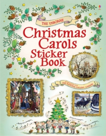Usborne: Christmas Carols Sticker Book