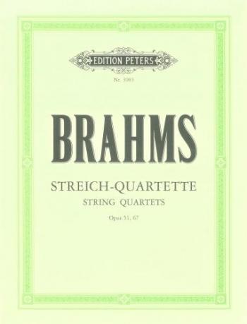 Brahms: Complete String Quartets: Score & Parts