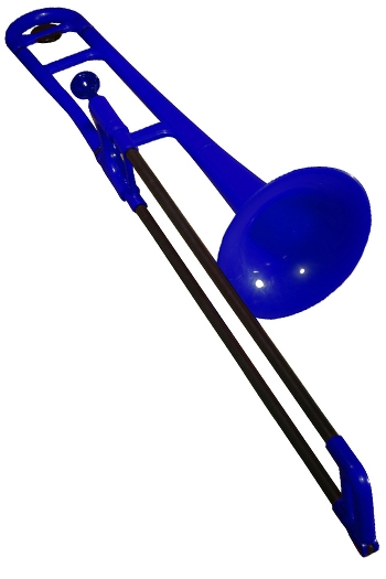 PBone Plastic Trombone Outfit - Blue
