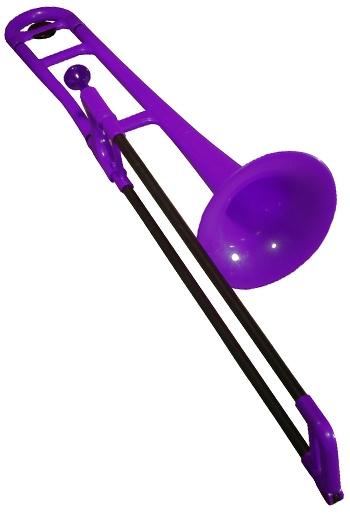 PBone Plastic Trombone Outfit - Purple