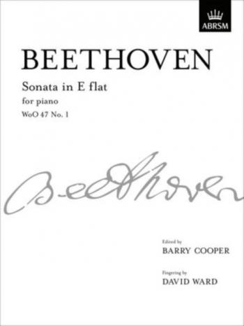 Piano  Sonata Eb Woo47 No.1 For Piano (ABRSM)