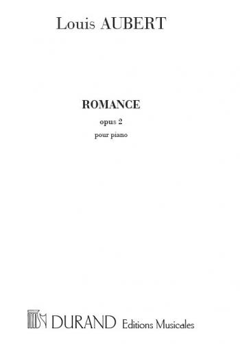 Romance Op.2: Piano Solo