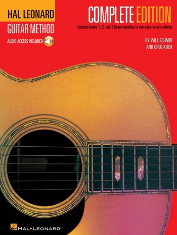 Hal Leonard Guitar Method: Complete Edition (with Audio Download)