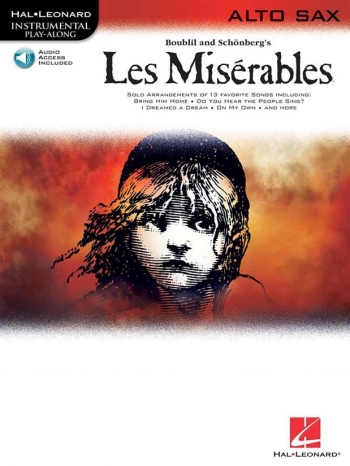Les Miserables: Playalong: Alto Saxophone: Book & CD
